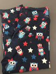 Kids Owl Custom Leggings EPS