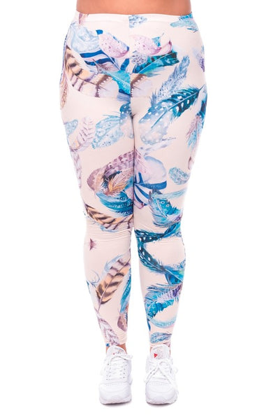 Feathers XL Leggings (Fits a 10-16)