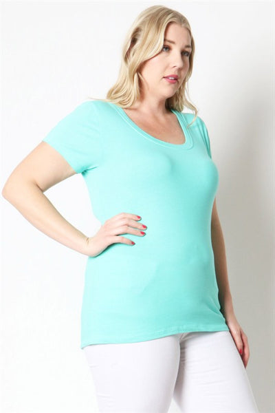 Scoop Neck Tee - PS