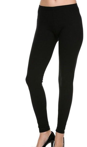 Black Solid EPS Legging