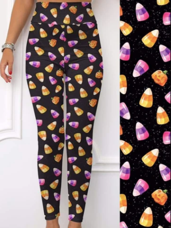 Custom Candy Corn EPS Legging