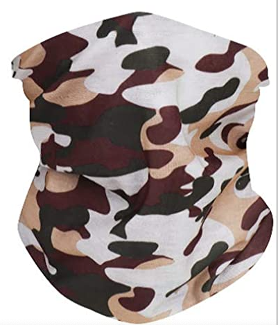 Camo Neck Gaiter - IN STOCK