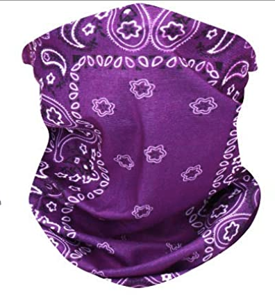 Purple Neck Gaiter - IN STOCK