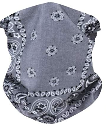 Gray Neck Gaiter - IN STOCK