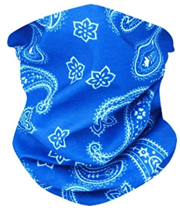Blue Neck Gaiter - IN STOCK