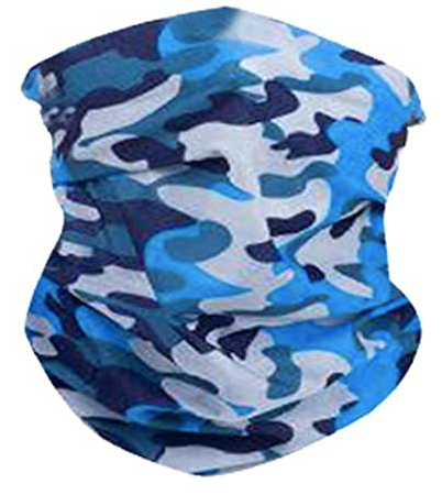 Blue Camo Neck Gaiter - IN STOCK