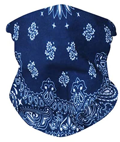 Navy Neck Gaiter - IN STOCK