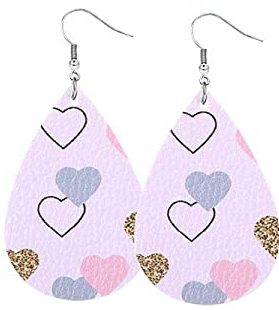 Valentine Earrings #12