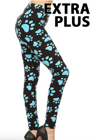 Blue Paw EPS Leggings 3X-5X