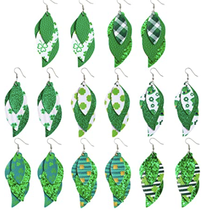 St. Patrick's Day Tiered Earrings #8
