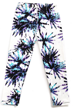 Kids Palm Tree Pattern Legging