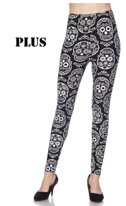 Artsy Skull PS Legging