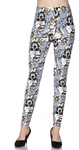 Rose Skull PS Legging