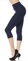Navy PS Capri Legging