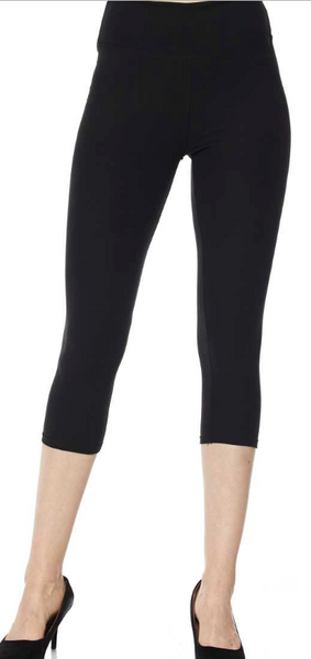 Black PS Capri Legging