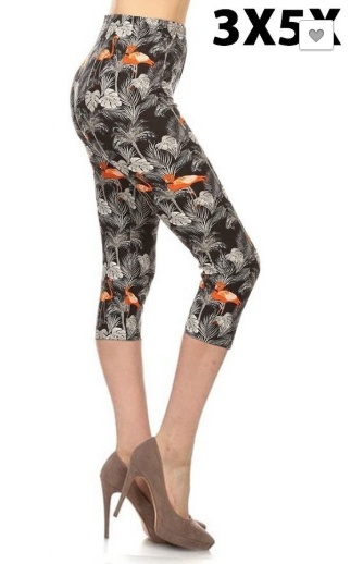 Flamingo EPS 3x-5x Capri Legging