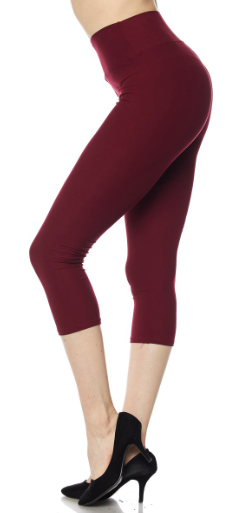 Marsala PS Capri Legging