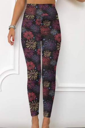 Firework EPS Legging - Yoga Band