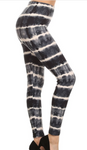 Black Tie Dye PS Legging