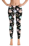 Custom Owl With Glasses EPS Legging