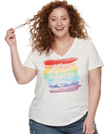 All You Need Is Love Short Sleeve PS Top -  Plus Size