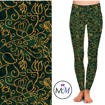Custom Emerald Filigree EPS Legging