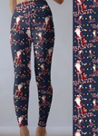 Custom Santa Light Legging - EPS