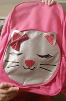 Pink Cat Backpack