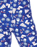 Snowflakes and Gifts Legging