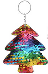 Sequin Keychain - Rainbow Tree