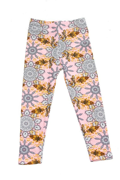 Kids Pink Leggings