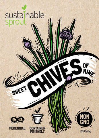Chives Seeds Front