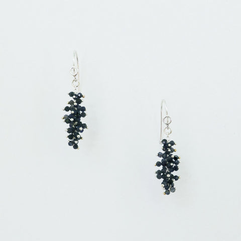 Maette Design Iolite Cluster Drop Earrings