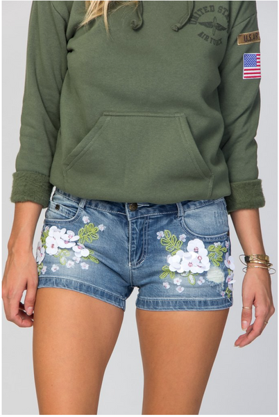 Daisy Flower Shorts modest clothing Minneapolis, MN