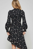 Daisy Black Floral Dress modest clothing Minneapolis, MN