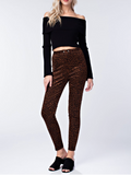 Leopard High Waisted Pants