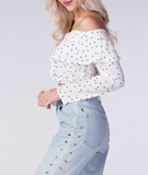 Star Off-The-Shoulder Top
