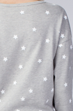 Star On Sweatshirt