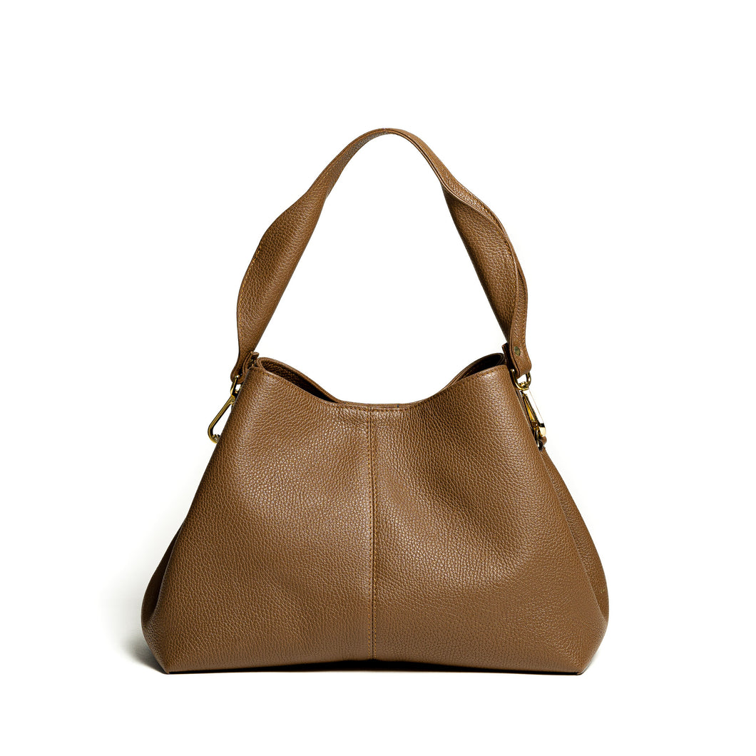 Nyx Low Bucket Bag - toffee