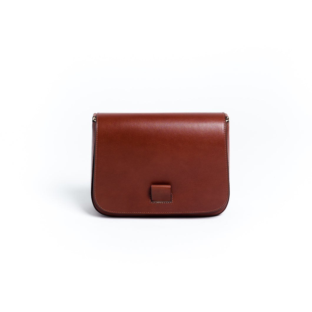 Saddle Bag - cognac