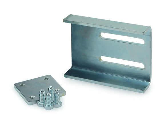 Galvanized Weld-on Mounting Bracket For Cantilever Wheel Catcher - M