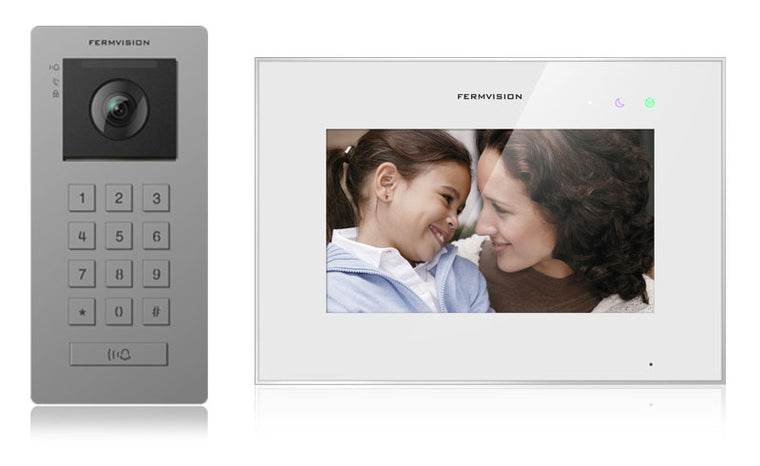 Fermax Q Series 2-wire Intercom with integrated keypad