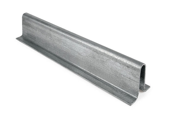 Sliding Gate Galvanized Steel Floor 16mm U Groove Track To Install In The Driveway 6M