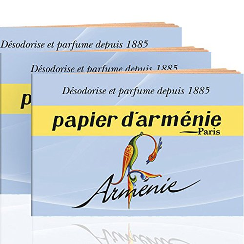 Annee Armenie Burning Papers 3 x 12 sheets by Papier d'Armenie