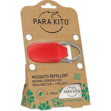 PARA'KITO Natural Mosquito Repellent Clip - Red
