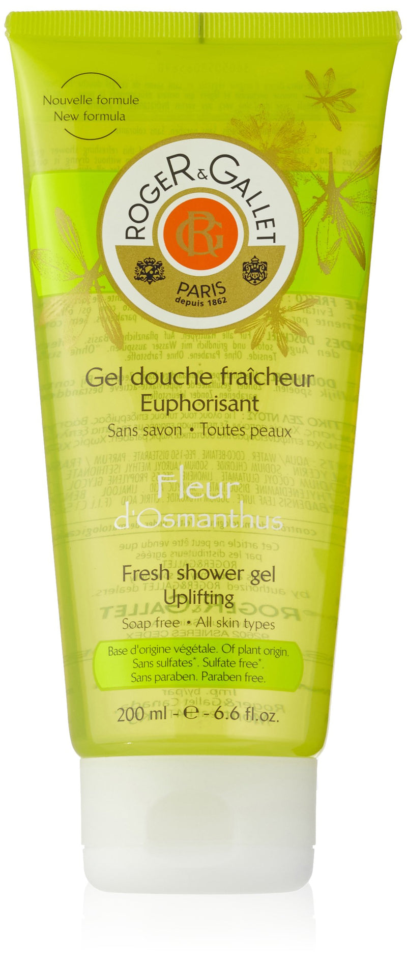 Roger & Gallet Fleur d Osmanthus Fresh Shower Gel 200ml/6.6oz