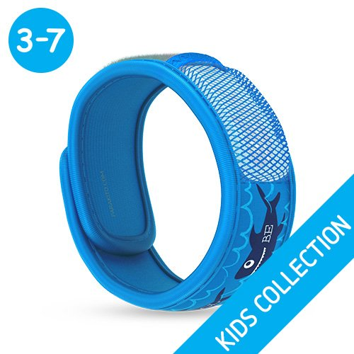PARA'KITO All Natural Kids Mosquito Repellent Wristband - Be Cool