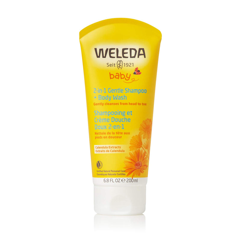 Weleda Calendula Baby Shampoo and Body Wash, 6.8-Ounce