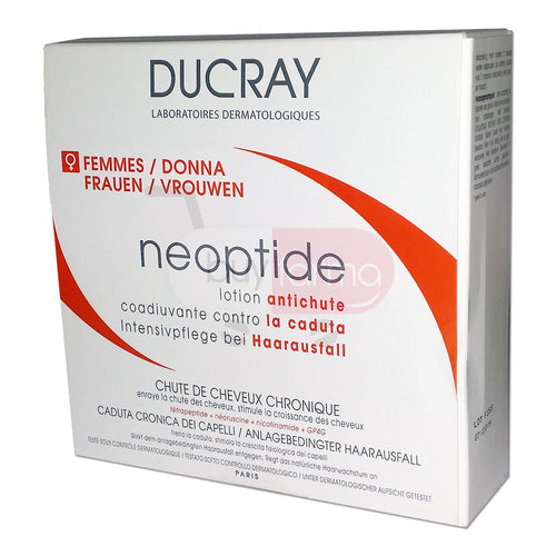 Ducray NEOPTIDE Anti-Hair Loss Treatment (Chronic Hair Loss in Women) 3 Months Treatment
