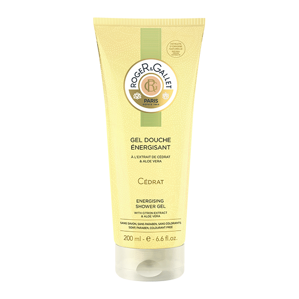 Roger & Gallet Cedrat Citron Fresh Shower Gel for Women, 6.6 Ounce